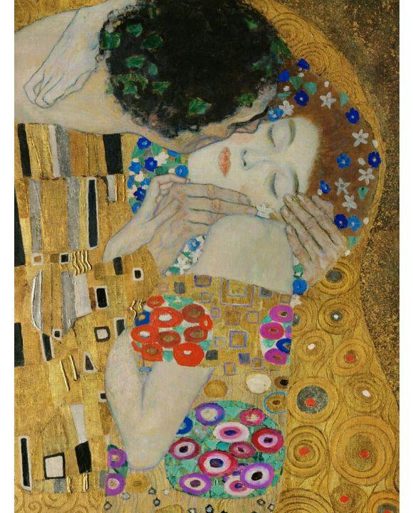 Lais Puzzle - Gustav Klimt - Der Kuß - Detail - 500 & 1.000 Teile
