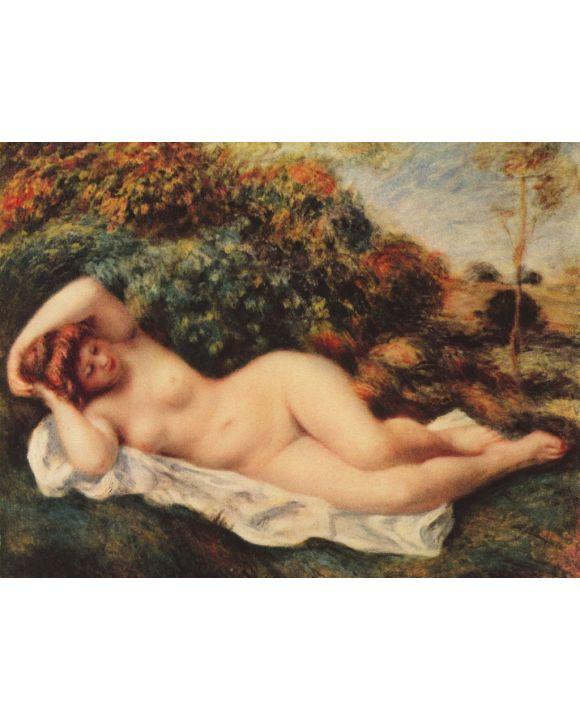 Lais Puzzle - Pierre-Auguste Renoir - Badende, schlafend (Die Bäckerin) - 500 & 1.000 Teile