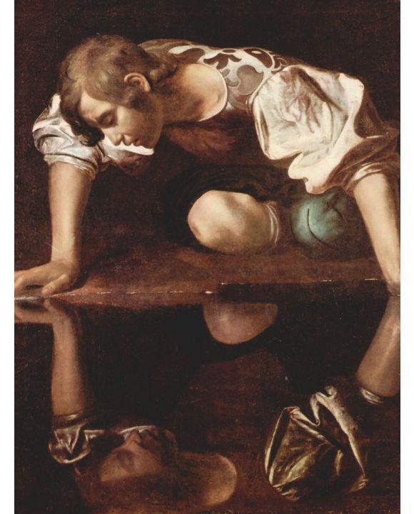 Lais Puzzle - Michelangelo Caravaggio - Narzis - 500 & 1.000 Teile