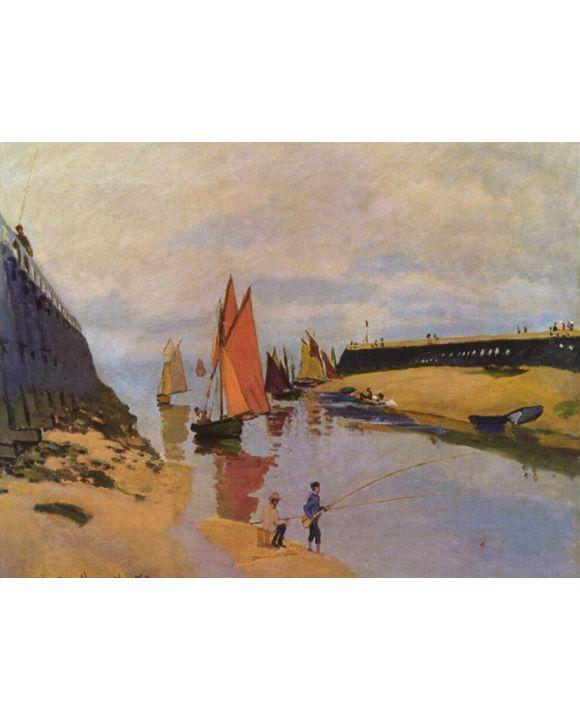 Lais Puzzle - Claude Monet - Hafen von Trouville - 1.000 & 2.000 Teile