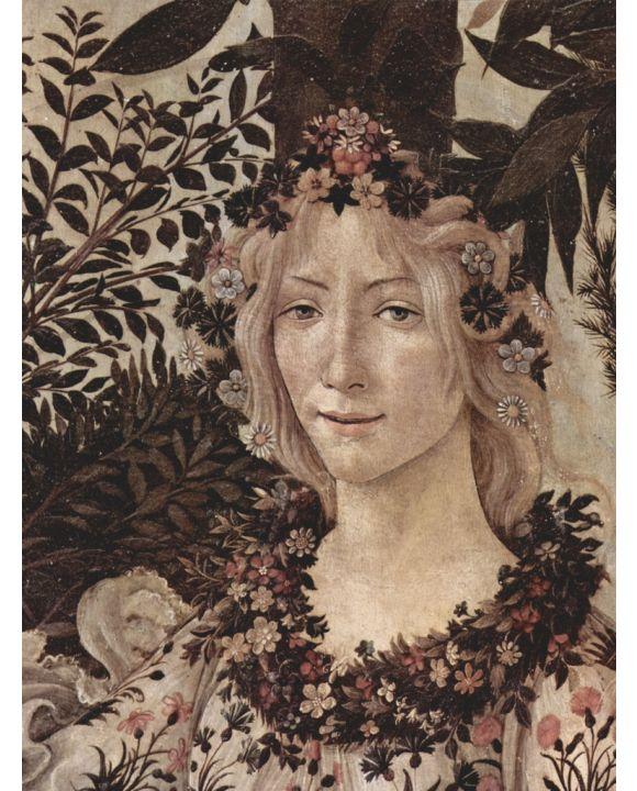 Lais Puzzle - Sandro Botticelli - Frühling (Primavera), Detail: Flora - 500 & 1.000 Teile