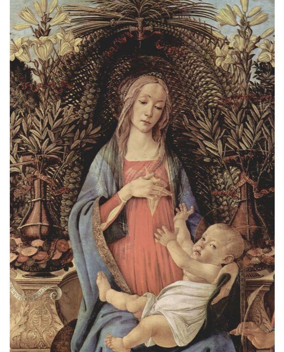 Lais Puzzle - Sandro Botticelli - Maria und Christuskind - 500 Teile