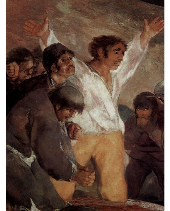 Lais Puzzle - Francisco de Goya y Lucientes - Erschießung der Aufständischen am 3. Mai 1808 in Madrid, Detail - 500 & 1.000 Teile
