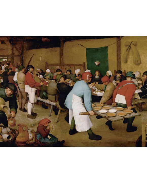 Lais Puzzle - Pieter Bruegel d. Ä. - Bauernhochzeit - 1.000 & 2.000 Teile