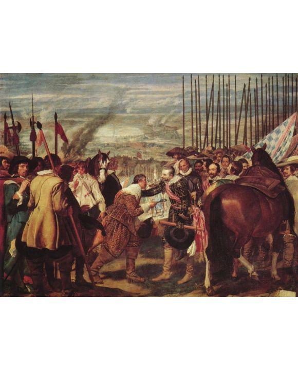 Lais Puzzle - Diego Velázquez - Übergabe von Breda - 500 & 1.000 Teile