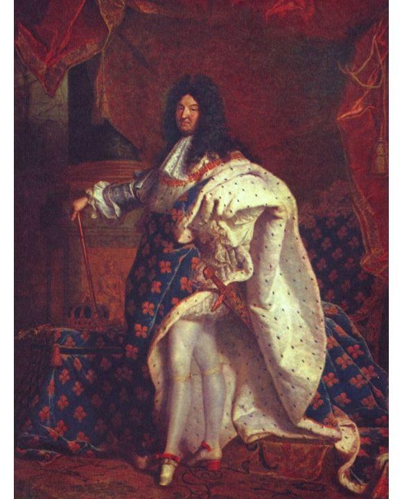 Lais Puzzle - Hyacinthe Rigaud - Porträt des französischen Königs Ludwig XIV. - 1.000 Teile