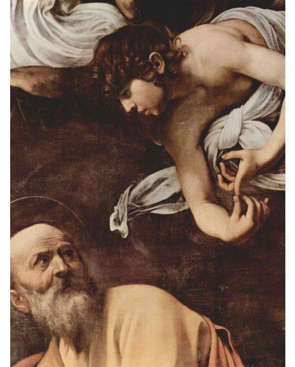 Lais Puzzle - Michelangelo Caravaggio - Hl. Matthäus und der Engel  - 500 & 1.000 Teile