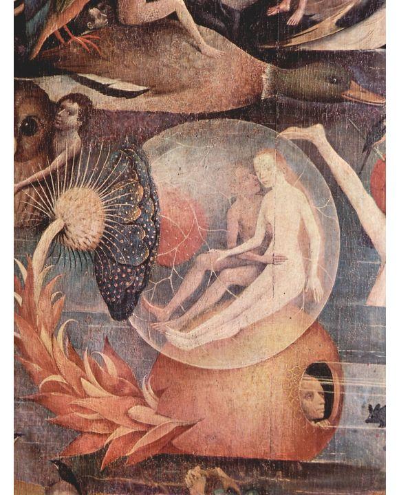 Lais Puzzle - Hieronymus Bosch - Der Garten der Lüste, Mitteltafel: Der Garten der Lüste, Detail - 500 & 1.000 Teile