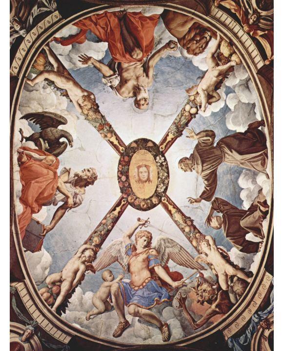 Lais Puzzle - Angelo Bronzino - Fresken der Kapelle der Eleonora da Toledo im Palazzo Vecchio in Florenz - 500 & 1.000 Teile