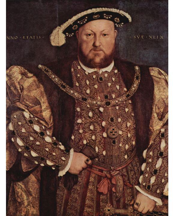 Lais Puzzle - Hans Holbein d. J. - Porträt Heinrich VIII. von England - 500 & 1.000 Teile