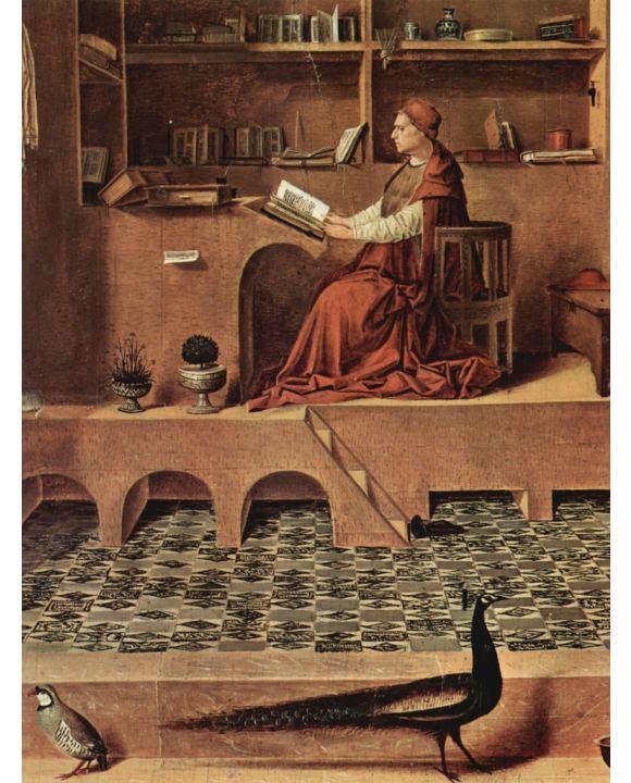 Lais Puzzle - Antonello da Messina - Hl. Hieronymus im Gehäus, Detail - 500 & 1.000 Teile