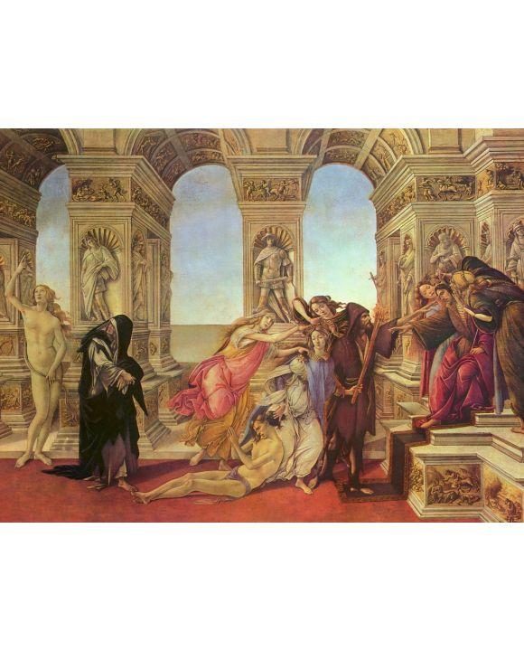 Lais Puzzle - Sandro Botticelli - Die Verleumdung - 1.000 Teile