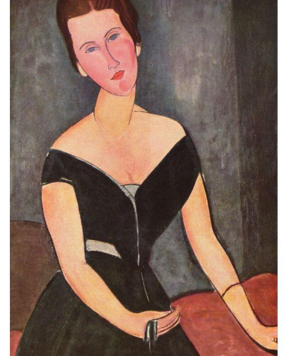 Lais Puzzle - Amadeo Modigliani - Porträt der Frau van Muyden - 500 & 1.000 Teile