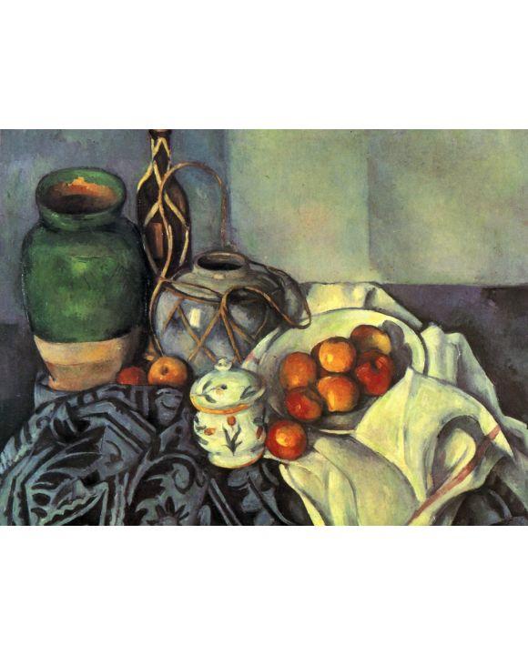 Lais Puzzle - Paul Cézanne - Stilleben mit Äpfeln - 500 & 1.000 Teile