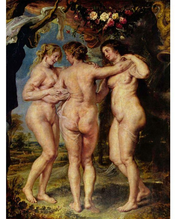 Lais Puzzle - Peter Paul Rubens - Die drei Grazien - 500 & 1.000 Teile