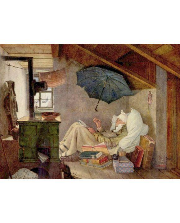 Lais Puzzle - Carl Spitzweg - Der arme Poet - 1.000 Teile