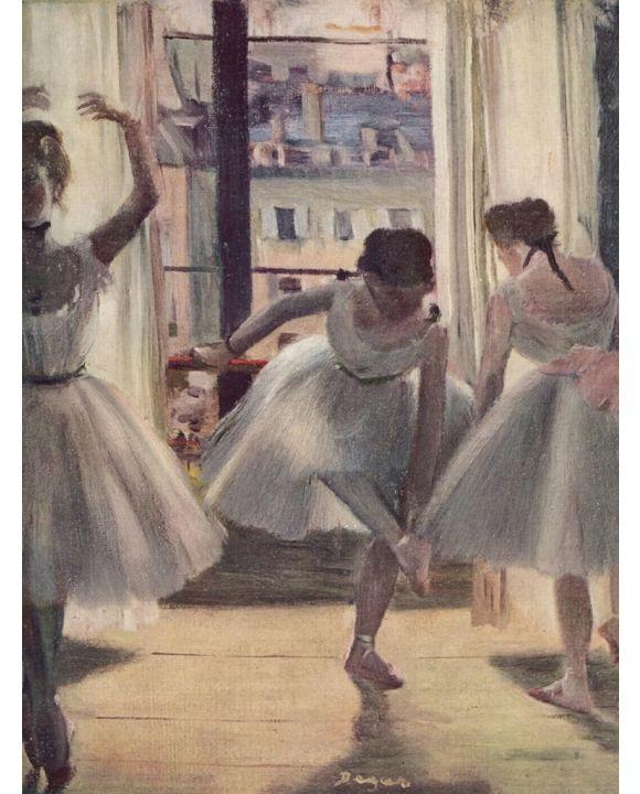 Lais Puzzle - Edgar Germain Hilaire Degas - Drei Tänzerinnen in einem Übungssaal - 200 Teile