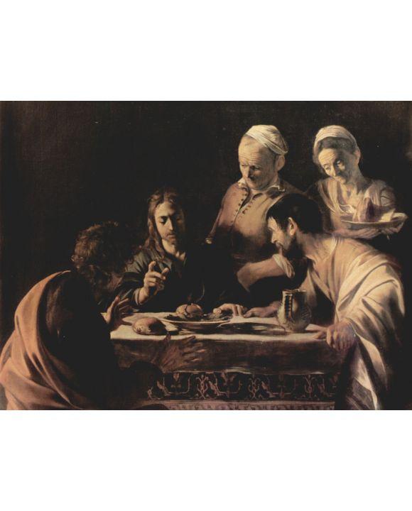 Lais Puzzle - Michelangelo Caravaggio - Emmausmahl - 500 & 1.000 Teile