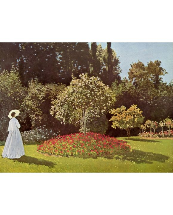 Lais Puzzle - Claude Monet - Frau im Garten - 500 & 1.000 Teile