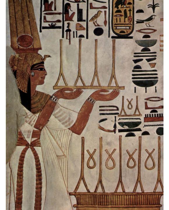 Lais Puzzle - Maler der Grabkammer der Nefertari - Gattin des Ramses II., Die Königin Nefertari beim Opfer - 500 & 1.000 Teile