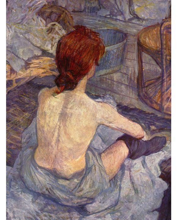 Lais Puzzle - Henri de Toulouse-Lautrec - Die Toilette, Detail - 500 & 1.000 Teile