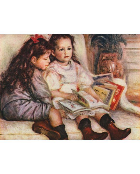 Lais Puzzle - Pierre-Auguste Renoir - Porträt von Jean und Geneviève Caillebotte - 500 & 1.000 Teile