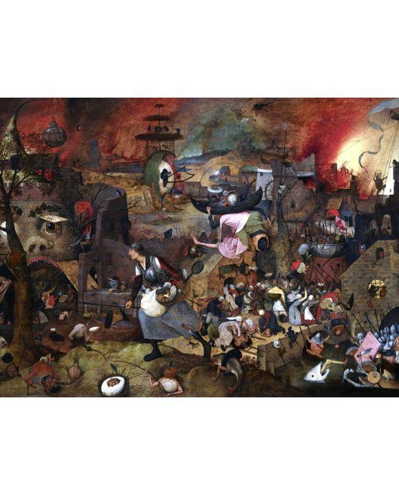 Lais Puzzle - Pieter Bruegel d. Ä. - Die Dulle Griet (Die tolle Grete) - 1.000 Teile