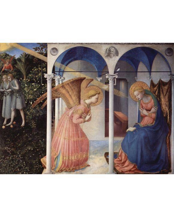 Lais Puzzle - Fra Angelico - Verkündigung an Maria - 500 & 1.000 Teile