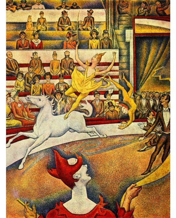 Lais Puzzle - Georges Seurat - Der Zirkus - 500 & 1.000 Teile
