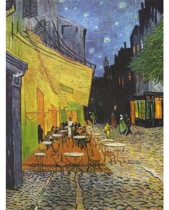 Lais Puzzle - Vincent Willem van Gogh - Caféterasse bei Nacht - 500 & 1.000 Teile