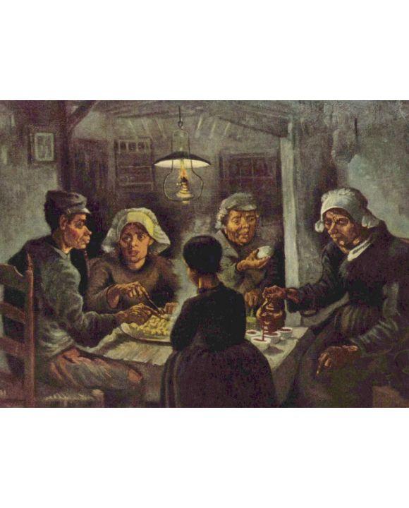 Lais Puzzle - Vincent Willem van Gogh - Die Kartoffelesser - 2.000 Teile