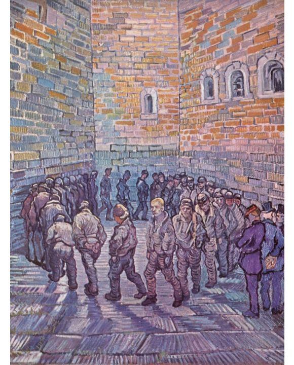 Lais Puzzle - Vincent Willem van Gogh - Die Runde der Gefangenen - 500 & 1.000 Teile