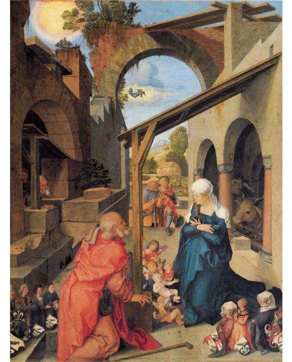 Lais Puzzle - Albrecht Dürer - Paumgartner-Altar: Mittelbild: Geburt Christi - 500 & 1.000 Teile