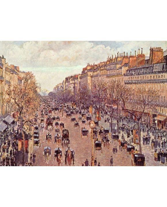 Lais Puzzle - Camille Pissarro - Boulevard Montmartre - 500 & 1.000 Teile