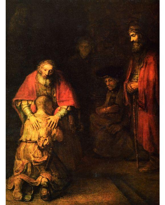 Lais Puzzle - Rembrandt Harmensz. van Rijn - Rückkehr des verlorenen Sohnes - 500 & 1.000 Teile