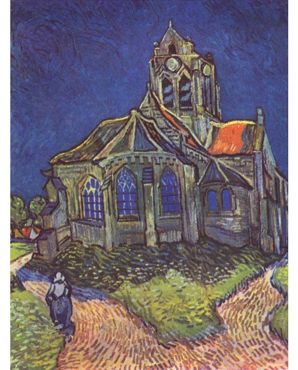 Lais Puzzle - Vincent Willem van Gogh - Kirche von Auvers - 1.000 Teile