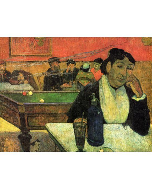 Lais Puzzle - Paul Gauguin - Im Café (Porträt der Mme Ginoux) - 1.000 Teile