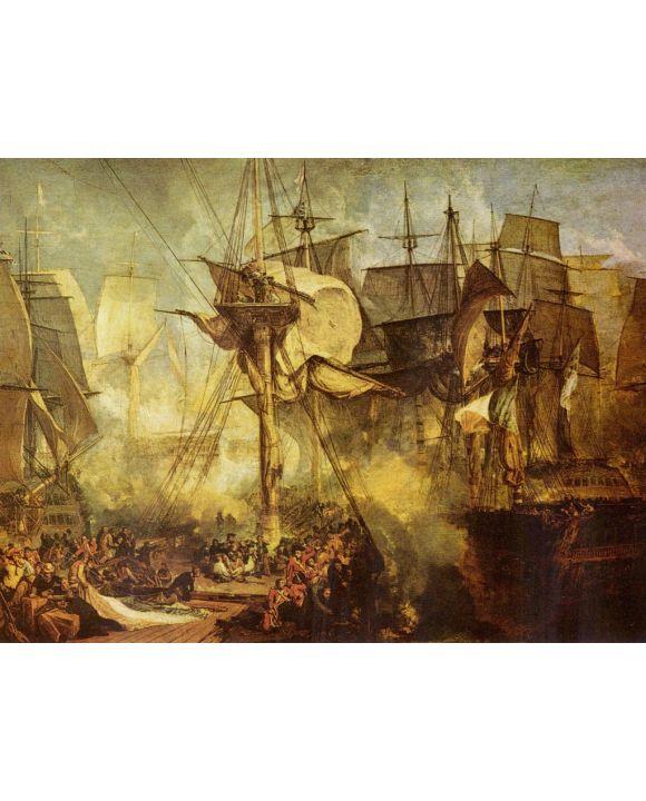 Lais Puzzle - Joseph Mallord William Turner - Die Schlacht bei Trafalgar - 2.000 Teile