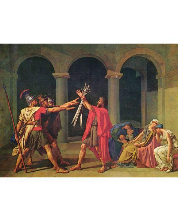 Lais Puzzle - Jacques-Louis David - Schwur der Horatier - 1.000 Teile