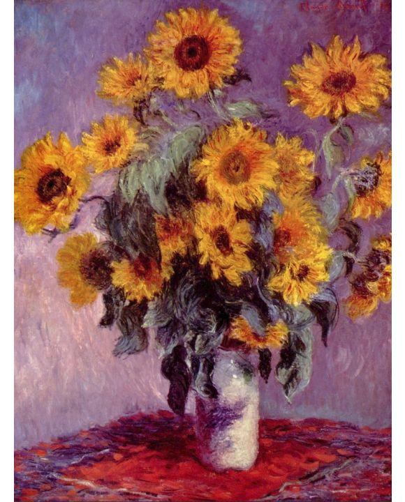 Lais Puzzle - Claude Monet - Stilleben mit Sonnenblumen - 1.000 Teile