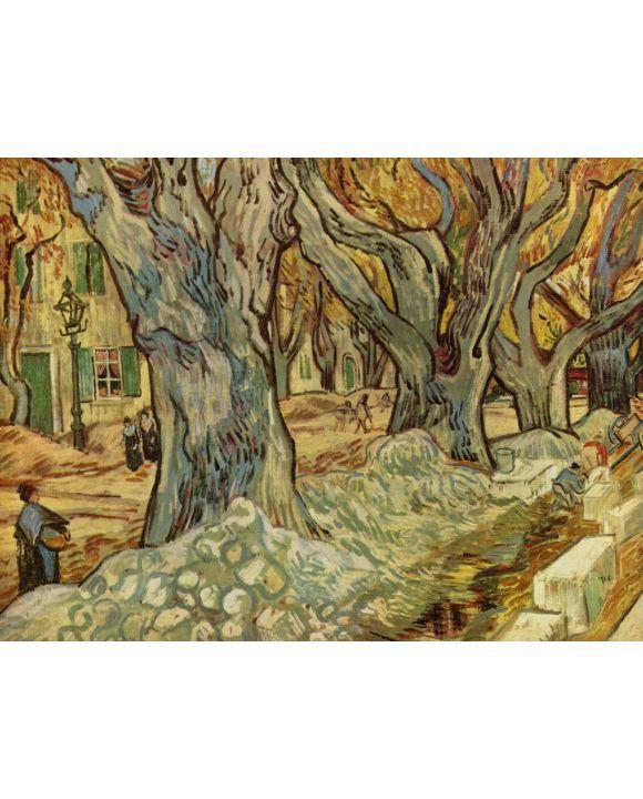 Lais Puzzle - Vincent Willem van Gogh - Straßenarbeiter - 2.000 Teile