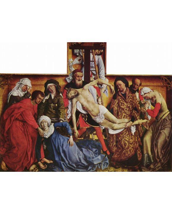 Lais Puzzle - Rogier van der Weyden - Kreuzabnahme Christi - 1.000 Teile