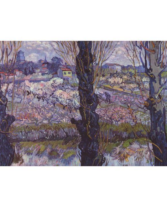 Lais Puzzle - Vincent Willem van Gogh - Blick auf Arles - 1.000 Teile