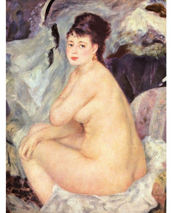 Lais Puzzle - Pierre-Auguste Renoir - Weiblicher Akt (Anna) - 500 & 1.000 Teile