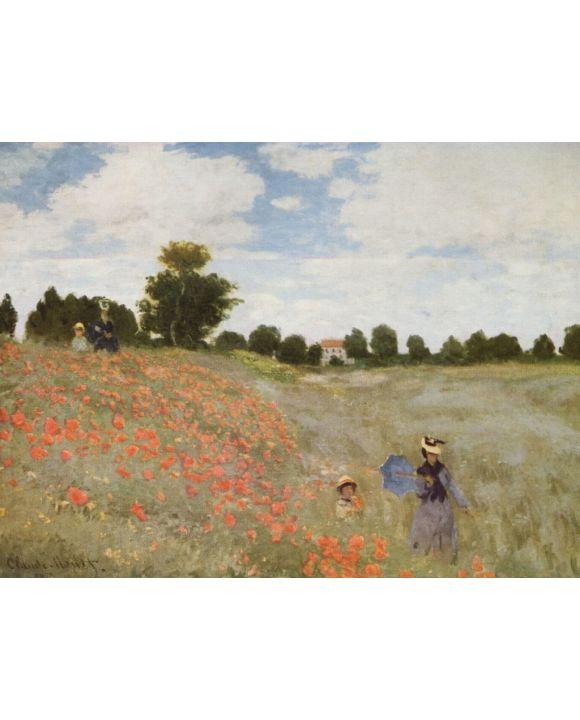Lais Puzzle - Claude Monet - Mohnblumen - 2.000 Teile