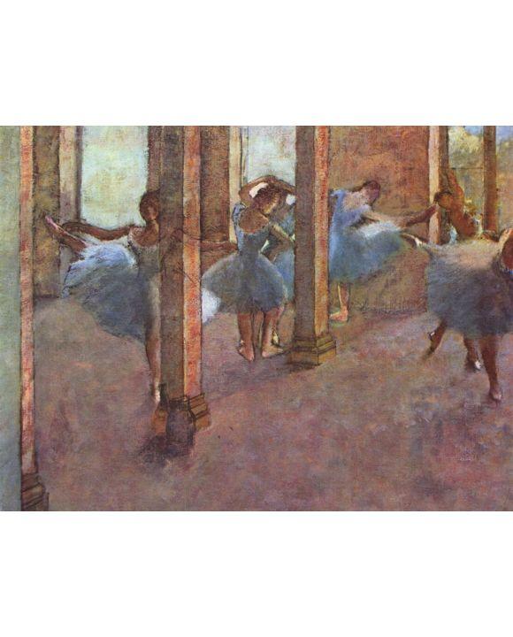 Lais Puzzle - Edgar Germain Hilaire Degas - Tänzerinnen im Foyer - 2.000 Teile