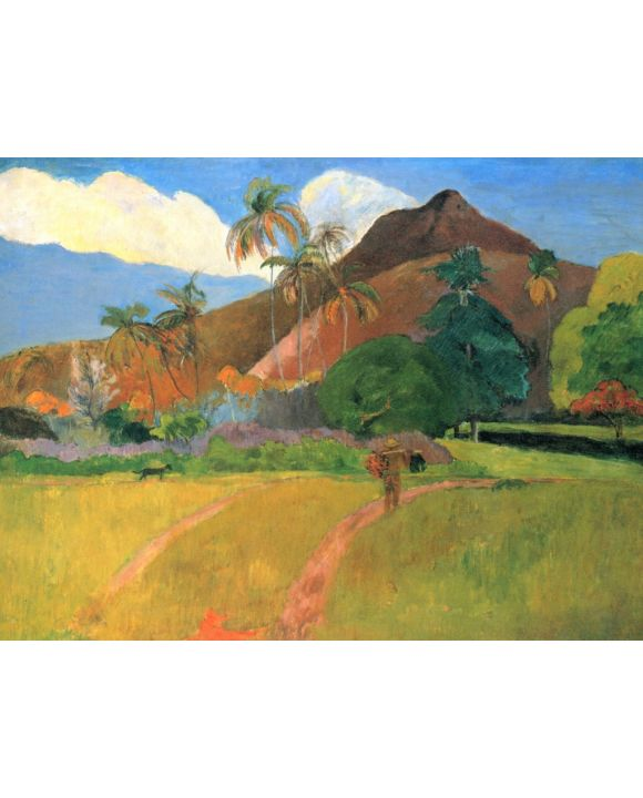 Lais Puzzle - Paul Gauguin - Berge auf Tahiti - 500 Teile