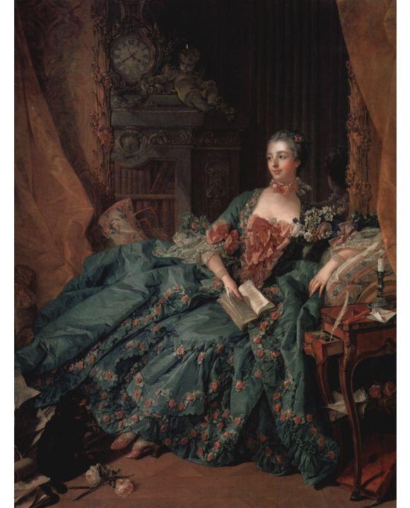 Lais Puzzle - François Boucher - Porträt der Madame de Pompadour - 1.000 Teile