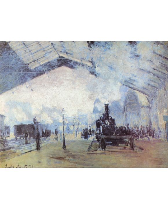 Lais Puzzle - Claude Monet - Bahnhof Saint Lazare in Paris - 500 & 1.000 Teile