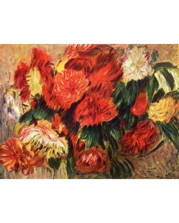 Lais Puzzle - Pierre-Auguste Renoir - Stilleben mit Chrysanthemen - 1.000 Teile